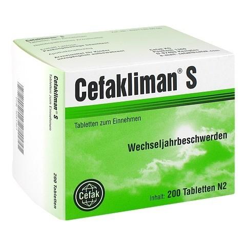 CEFAKLIMAN S Tabletten 200 Stück N2