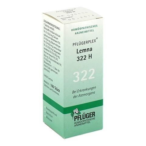 PFLÜGERPLEX Lemna 322 H Tabletten 100 Stück N1