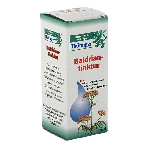 Thüringer Baldrian-Tinktur 50 Milliliter