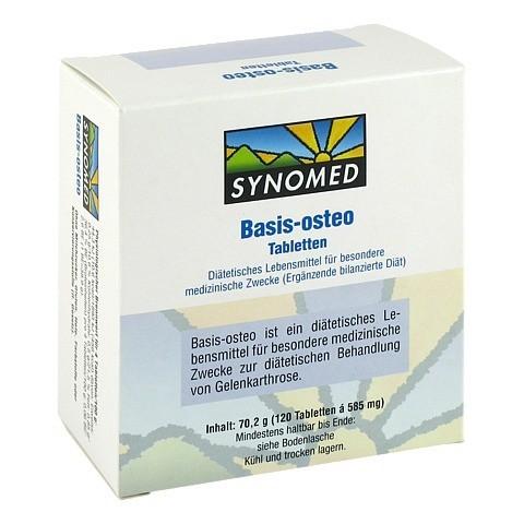 BASIS OSTEO Tabletten 120 Stück