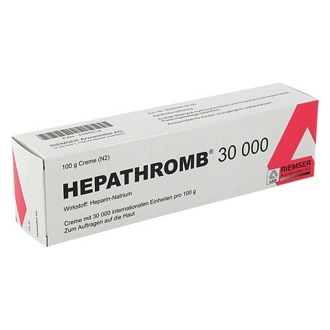 Hepathromb 30000 100 Gramm N2