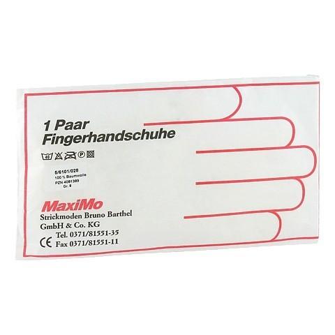 HANDSCHUHE Baumwolle Gr.8 stärk.Material 2 Stück