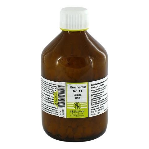 BIOCHEMIE 11 Silicea D 12 Tabletten 1000 Stück