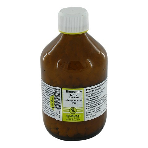 BIOCHEMIE 2 Calcium phosphoricum D 6 Tabletten 1000 Stück
