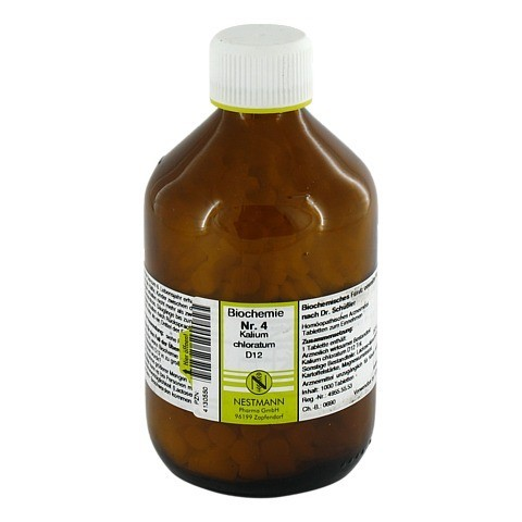 BIOCHEMIE 4 Kalium chloratum D 12 Tabletten 1000 Stück