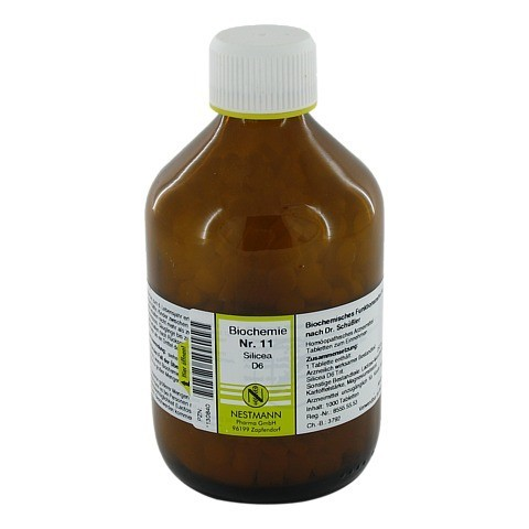 BIOCHEMIE 11 Silicea D 6 Tabletten 1000 Stück