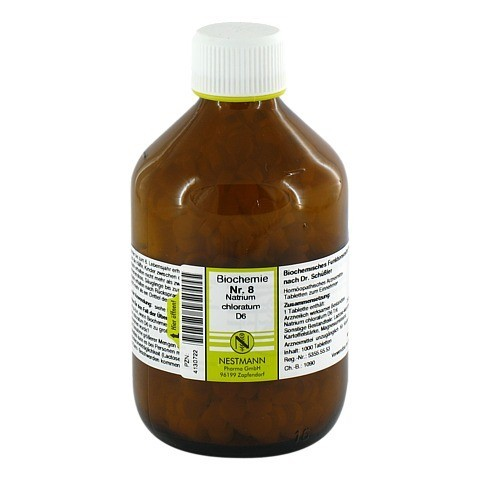 BIOCHEMIE 8 Natrium chloratum D 6 Tabletten 1000 Stück