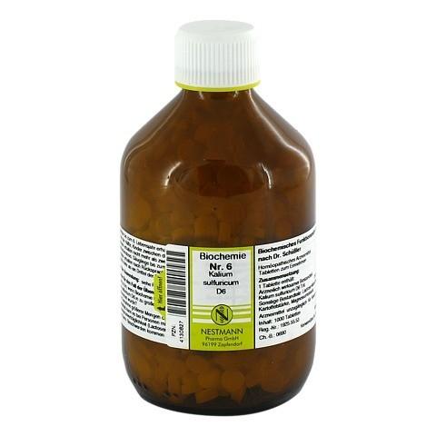 BIOCHEMIE 6 Kalium sulfuricum D 6 Tabletten 1000 Stück