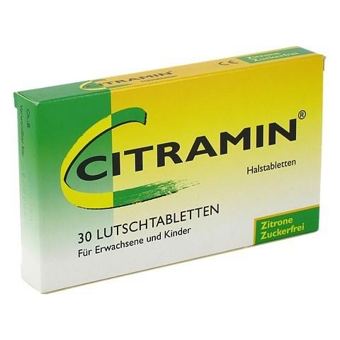 Citramin Halstabletten 30 Stück