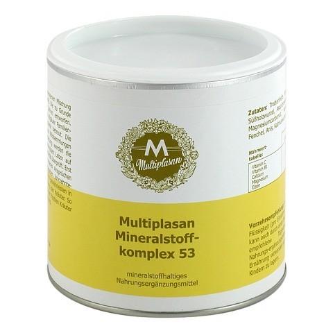 MULTIPLASAN Mineralstofflkomplex 53 Pulver 300 Gramm