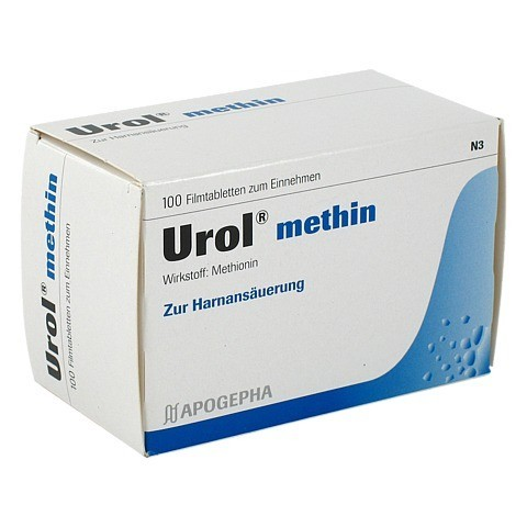 UROL METHIN Filmtabletten 100 Stück N3