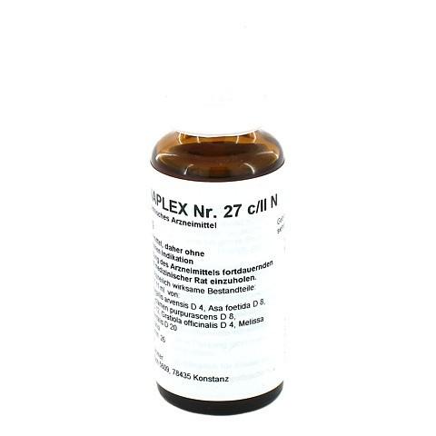 REGENAPLEX Nr.27 c/II N Tropfen 30 Milliliter N1