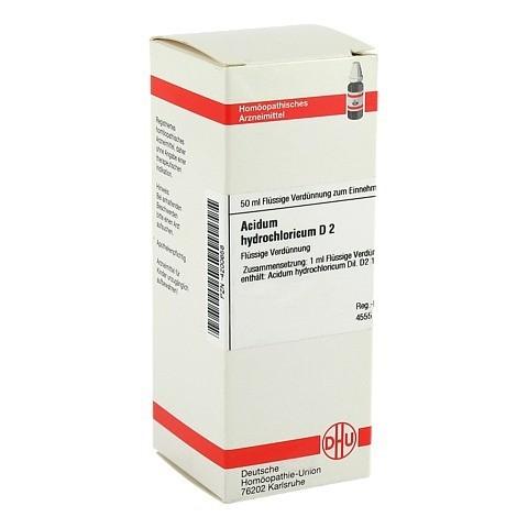 ACIDUM HYDROCHLORICUM D 2 Dilution 50 Milliliter N1