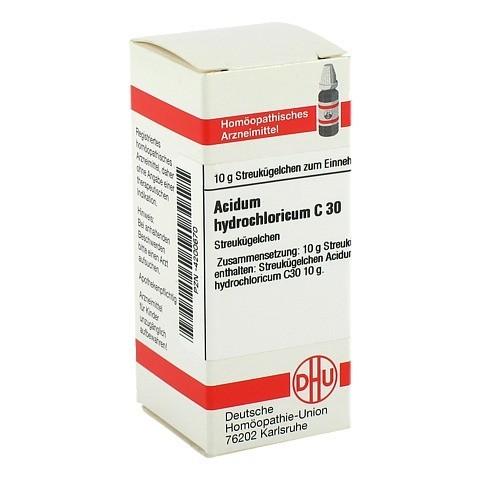 ACIDUM HYDROCHLORICUM C 30 Globuli 10 Gramm N1