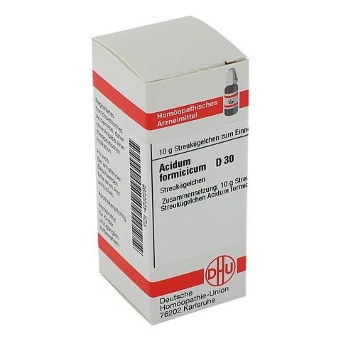 ACIDUM FORMICICUM D 30 Globuli 10 Gramm N1