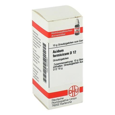 ACIDUM FORMICICUM D 12 Globuli 10 Gramm N1