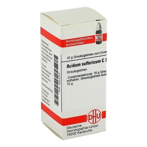 ACIDUM SULFURICUM C 30 Globuli 10 Gramm N1