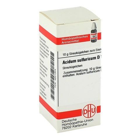 ACIDUM SULFURICUM D 10 Globuli 10 Gramm N1