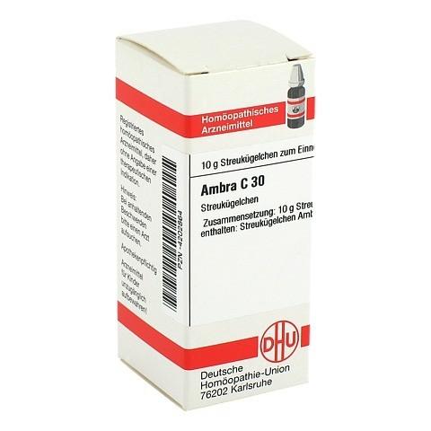 AMBRA C 30 Globuli 10 Gramm N1