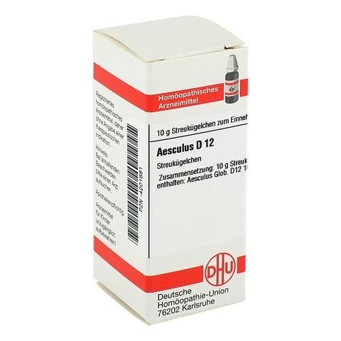 AESCULUS D 12 Globuli 10 Gramm N1