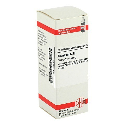 ACONITUM C 30 Dilution 20 Milliliter N1