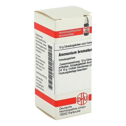 AMMONIUM BROMATUM D 4 Globuli 10 Gramm N1