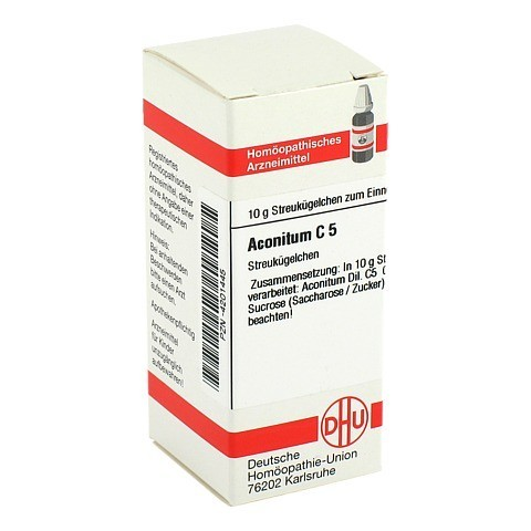 ACONITUM C 5 Globuli 10 Gramm N1