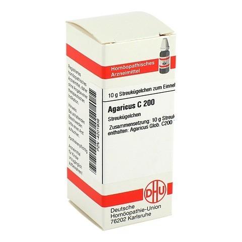 AGARICUS C 200 Globuli 10 Gramm N1