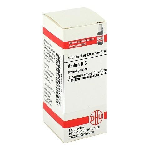 AMBRA D 6 Globuli 10 Gramm N1