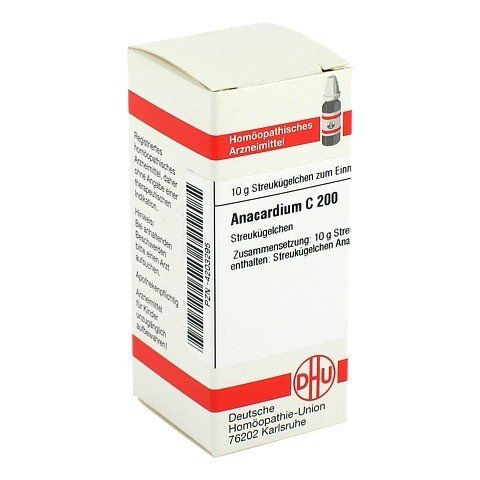 ANACARDIUM C 200 Globuli 10 Gramm N1