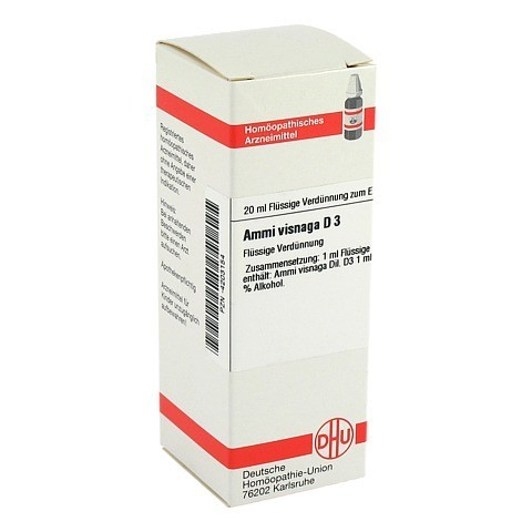 AMMI VISNAGA D 3 Dilution 20 Milliliter N1