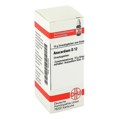 ANACARDIUM D 12 Globuli 10 Gramm N1