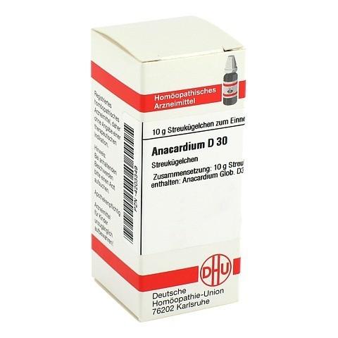 ANACARDIUM D 30 Globuli 10 Gramm N1