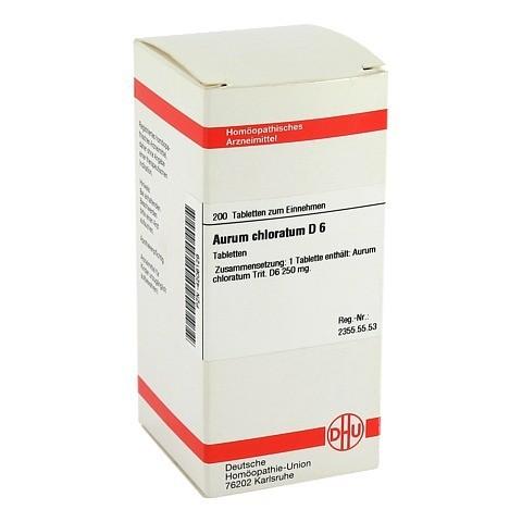 AURUM CHLORATUM D 6 Tabletten 200 Stück N2