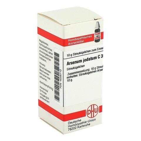 ARSENUM JODATUM C 30 Globuli 10 Gramm N1