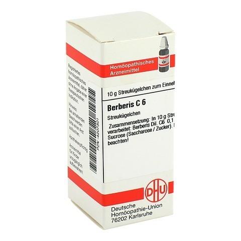 BERBERIS C 6 Globuli 10 Gramm N1
