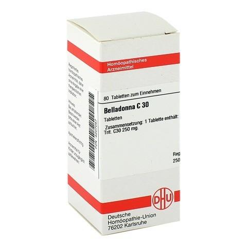 BELLADONNA C 30 Tabletten 80 Stück