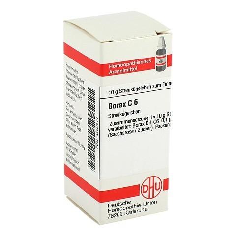 BORAX C 6 Globuli 10 Gramm N1