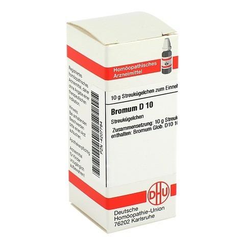 BROMUM D 10 Globuli 10 Gramm N1