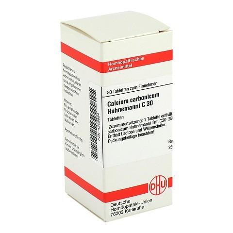CALCIUM CARBONICUM Hahnemanni C 30 Tabletten 80 Stück
