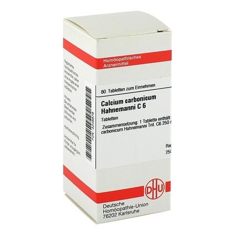 CALCIUM CARBONICUM Hahnemanni C 6 Tabletten 80 Stück N1
