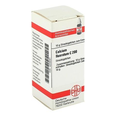 CALCIUM FLUORATUM C 200 Globuli 10 Gramm N1