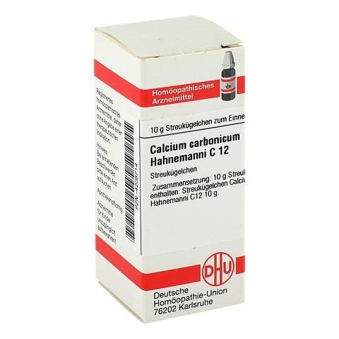 CALCIUM CARBONICUM Hahnemanni C 12 Globuli 10 Gramm N1
