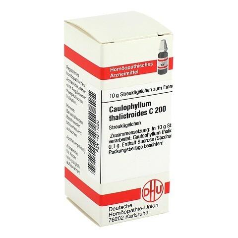 CAULOPHYLLUM THALICTROIDES C 200 Globuli 10 Gramm N1