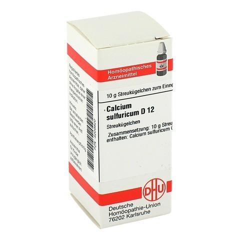 CALCIUM SULFURICUM D 12 Globuli 10 Gramm N1