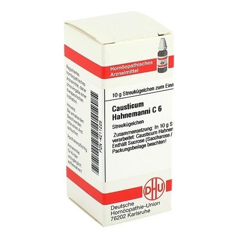 CAUSTICUM HAHNEMANNI C 6 Globuli 10 Gramm N1