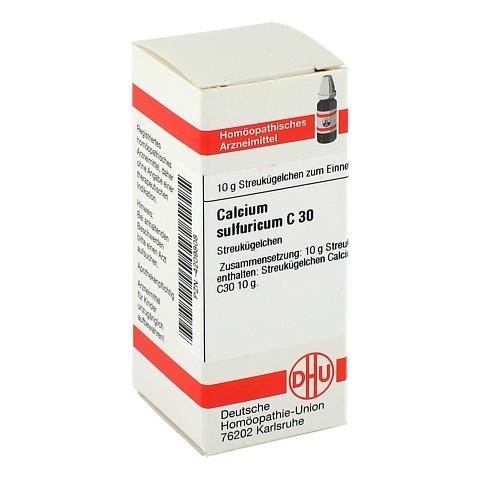 CALCIUM SULFURICUM C 30 Globuli 10 Gramm N1