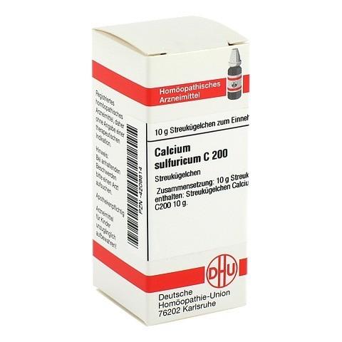 CALCIUM SULFURICUM C 200 Globuli 10 Gramm N1