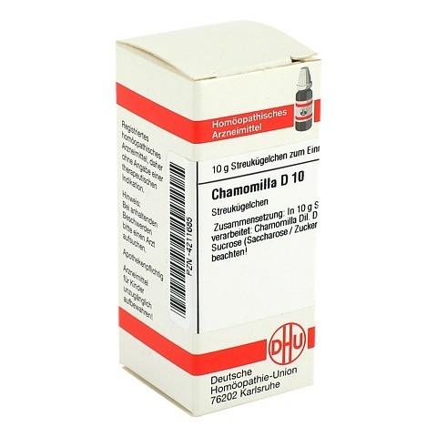 CHAMOMILLA D 10 Globuli 10 Gramm N1