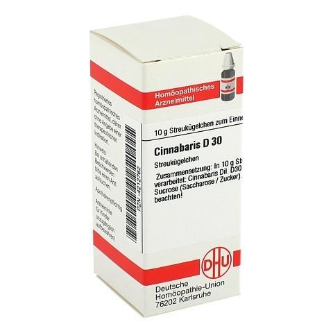 CINNABARIS D 30 Globuli 10 Gramm N1